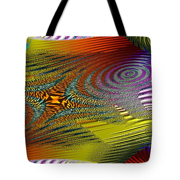 Scirocco Tote Bag by Mathilde Vhargon