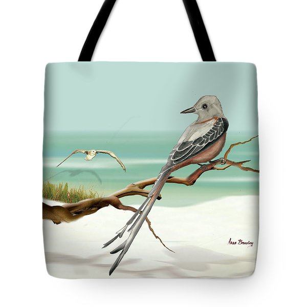 Scissor Tailed Flycatcher Tote Bag