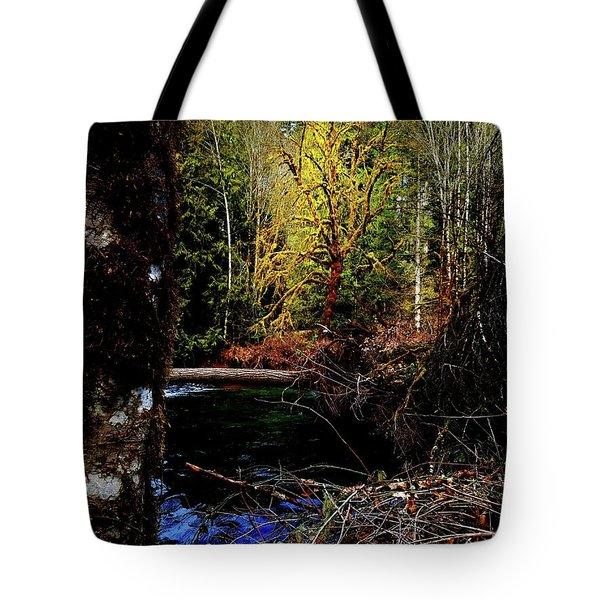 Scoggins Creek 3 Tote Bag
