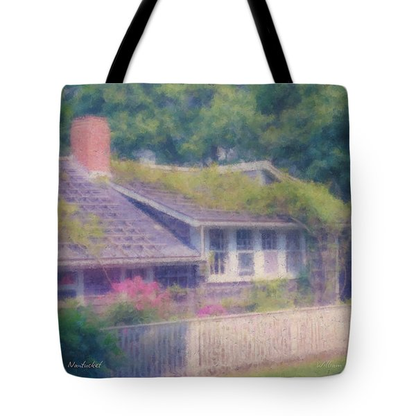 Sconset Cottage #3 Tote Bag