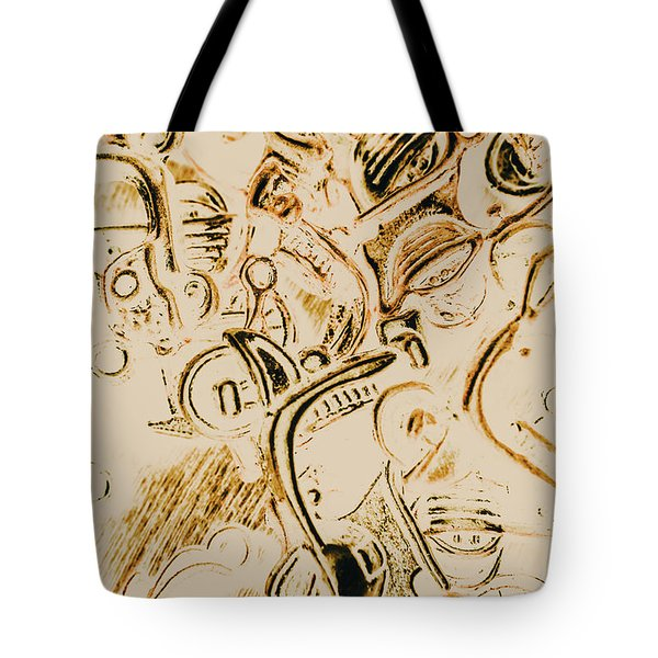 Scooter Avenue Tote Bag