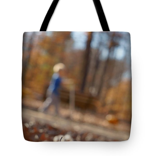 Tote Bag featuring the photograph Scootering At The Park by Greg Collins