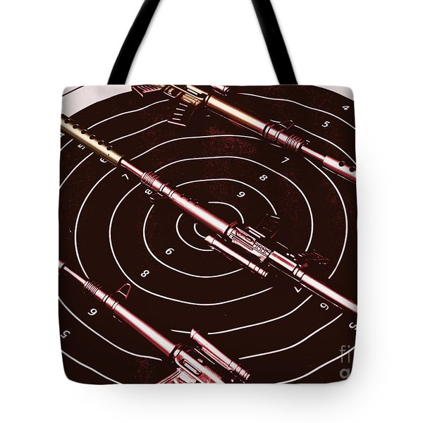 Scopes Of Military Precision  Tote Bag