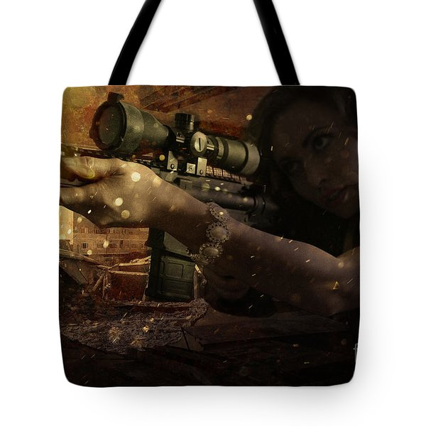 Scopped Tote Bag