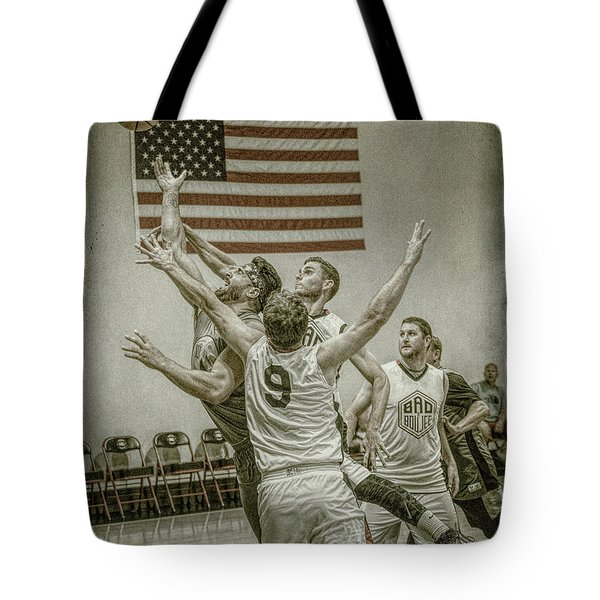 Tote Bag featuring the photograph Scoring In Traffic by Ronald Santini