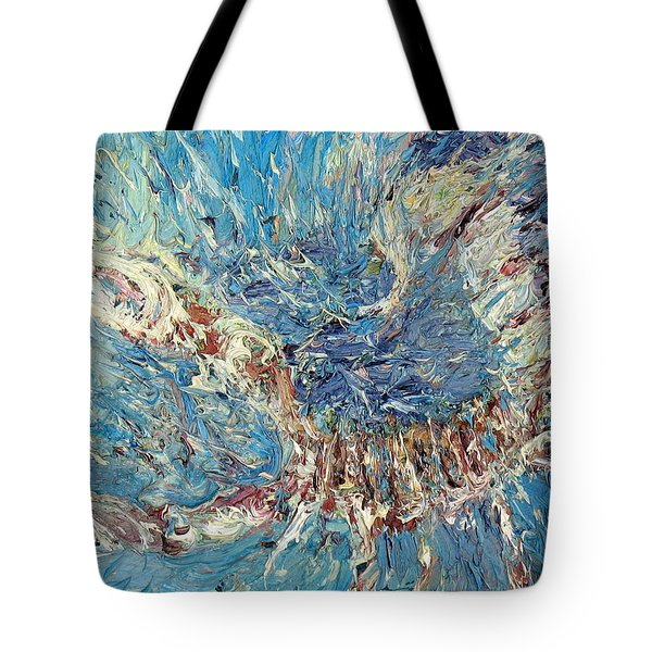 Scorpion Oil Painting Tote Bag by Fabrizio Cassetta