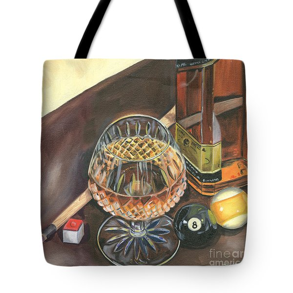 Scotch Cigars And Pool Tote Bag
