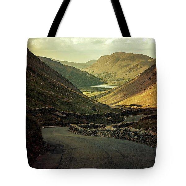 Scotland At The Sunset Tote Bag by Jaroslaw Blaminsky