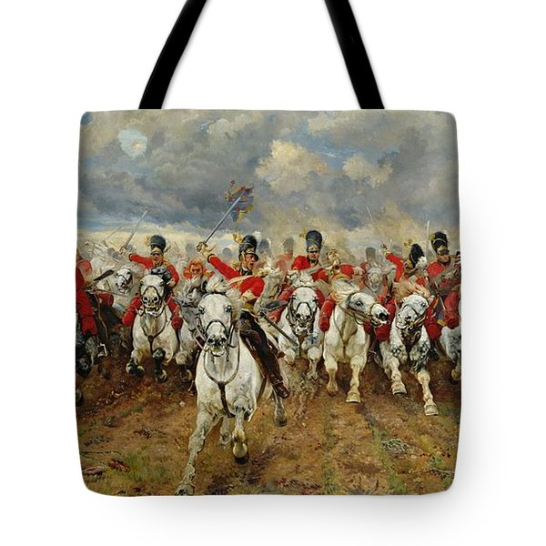 Scotland Forever Tote Bag by Elizabeth Southerden Thompson
