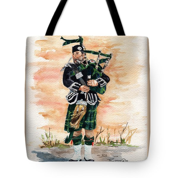 Scotland The Brave Tote Bag