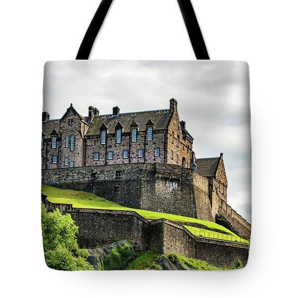 Scotland's Edinburgh Castle Tote Bag