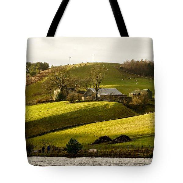 Scots' Pastoral. Tote Bag