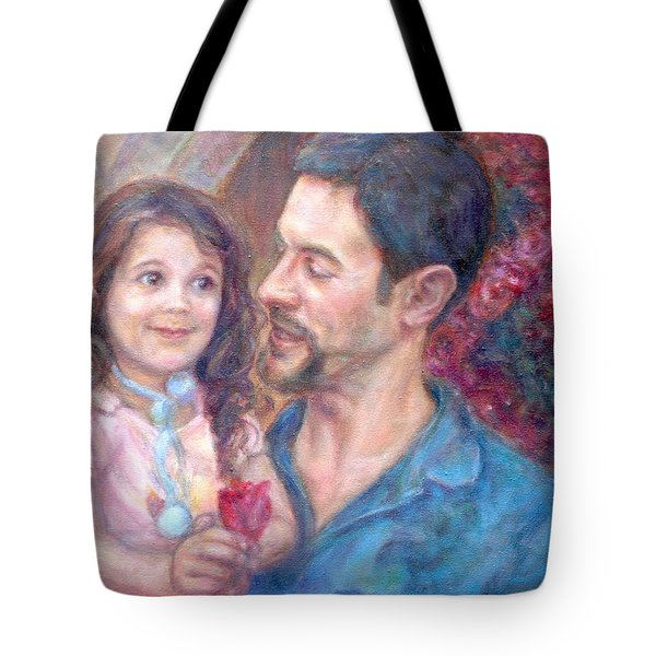 Scott And Sam Commission Tote Bag