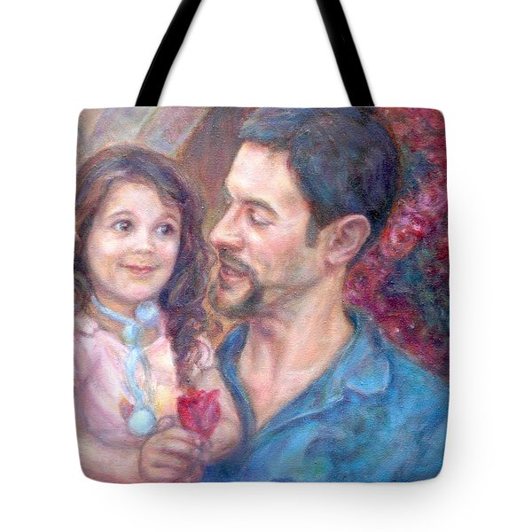 Scott And Sam Commission Tote Bag by Quin Sweetman