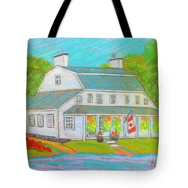 Scott Manor House  Tote Bag