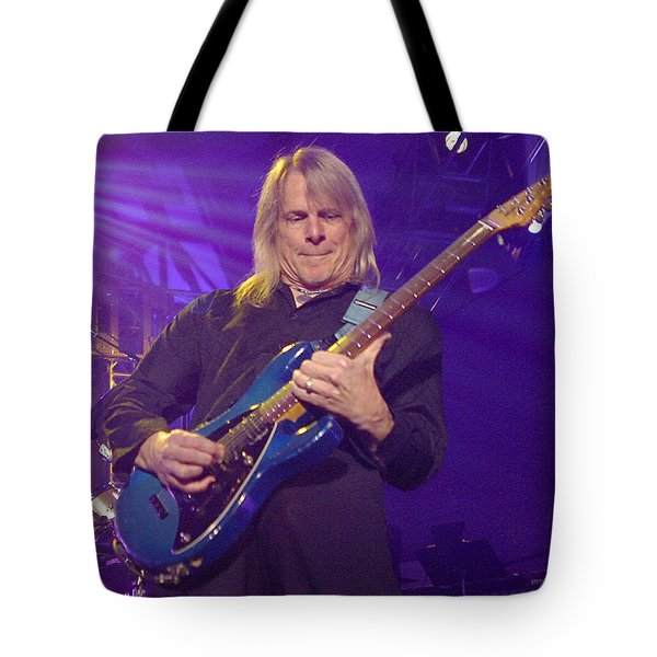 Tote Bag featuring the photograph Steve Morse Kansas by Don Olea