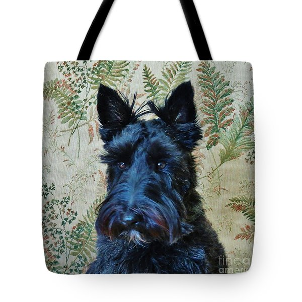 Tote Bag featuring the photograph Scottie by Michele Penner