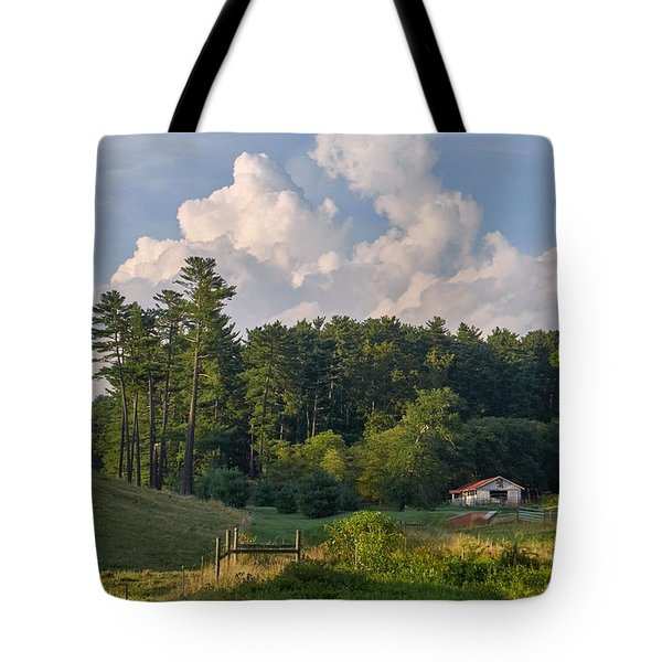 Scottish Barn Tote Bag