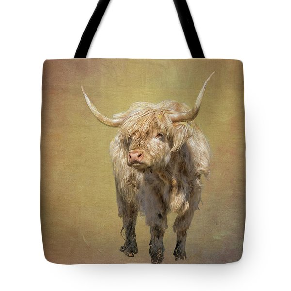 Scottish Highlander Tote Bag