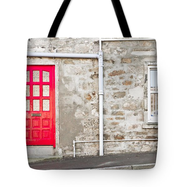 Scottish House Tote Bag