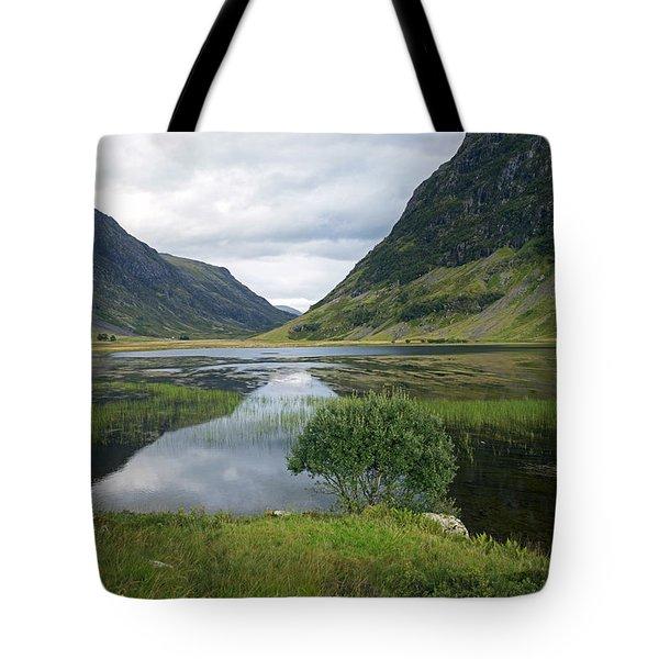 Scottish Tranquility Tote Bag