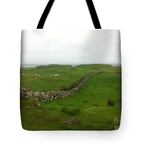 Scottish Wall Tote Bag
