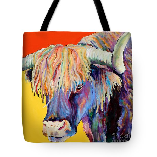 Scotty Tote Bag by Pat Saunders-White