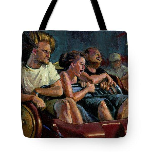 Scrambled Tote Bag