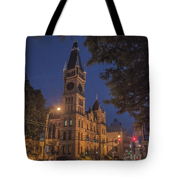Scranton Pa City Hall Tote Bag