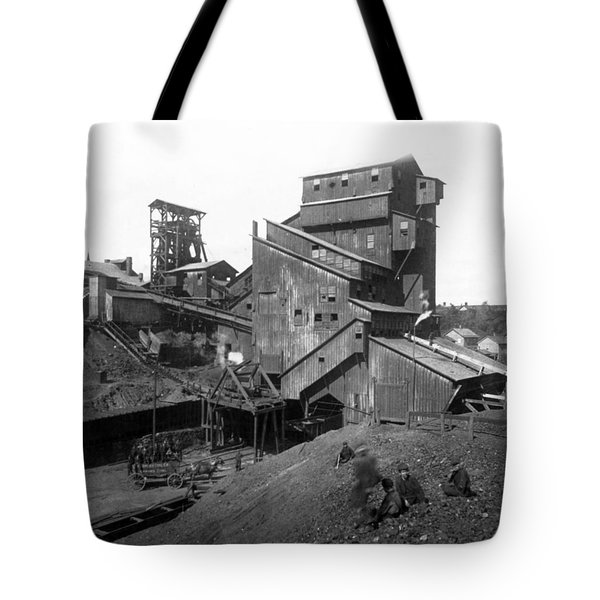 Scranton Pennsylvania Coal Mining - C 1905 Tote Bag