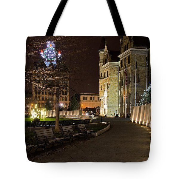 Scranton The Electric City Tote Bag