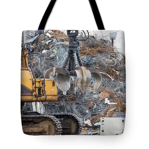 Scrap Metal Tote Bag