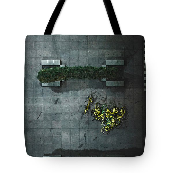 Scrap Metal Tote Bag