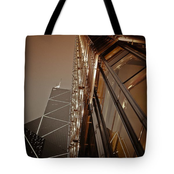 Scraping The Sky Tote Bag by Loriental Photography
