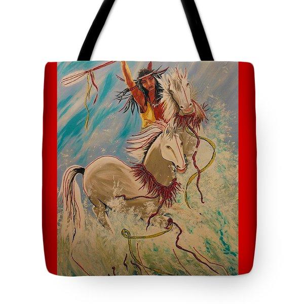 Scream Of Peace Tote Bag by V Boge