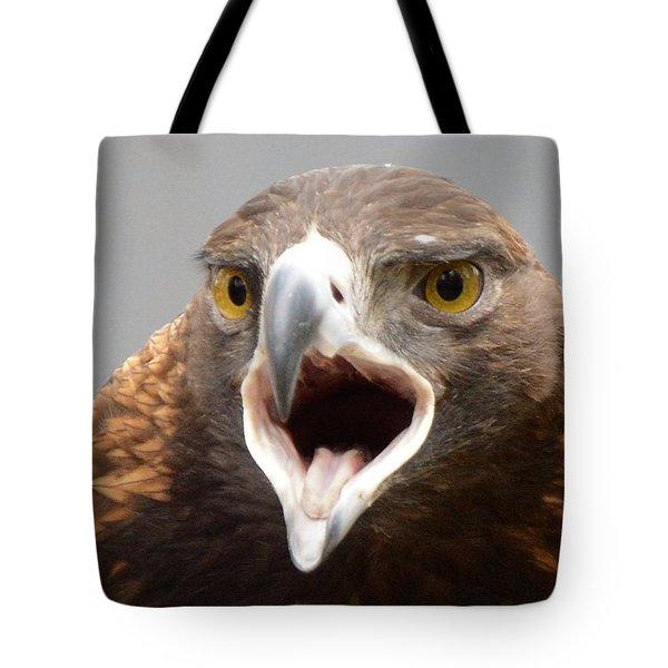 Screaming Eagle Tote Bag