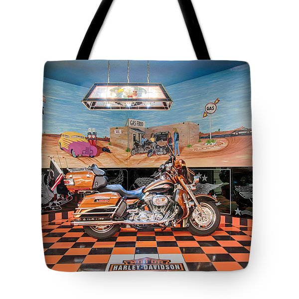 Screamin Eagle Harley Tote Bag