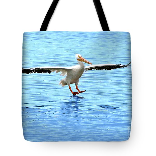 Screeching Halt Tote Bag