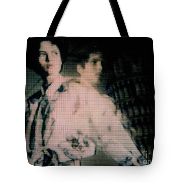 Tote Bag featuring the photograph Screen #11 by Hans Janssen