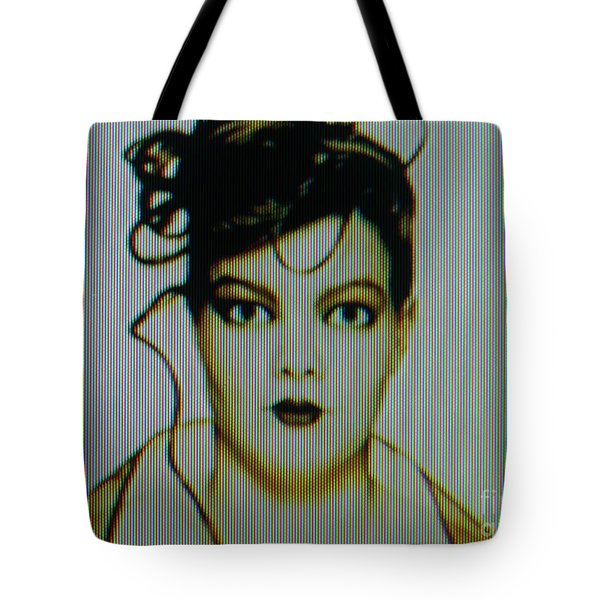 Tote Bag featuring the photograph Screen #42 by Hans Janssen