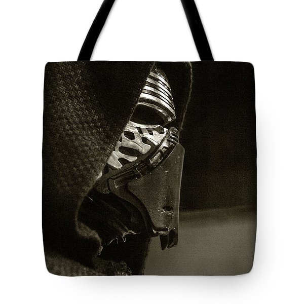 Tote Bag featuring the photograph Screen Worn Kylo Ren by Micah May