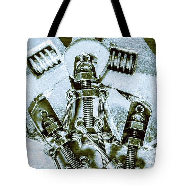 Screwed Blockchain Bots Tote Bag
