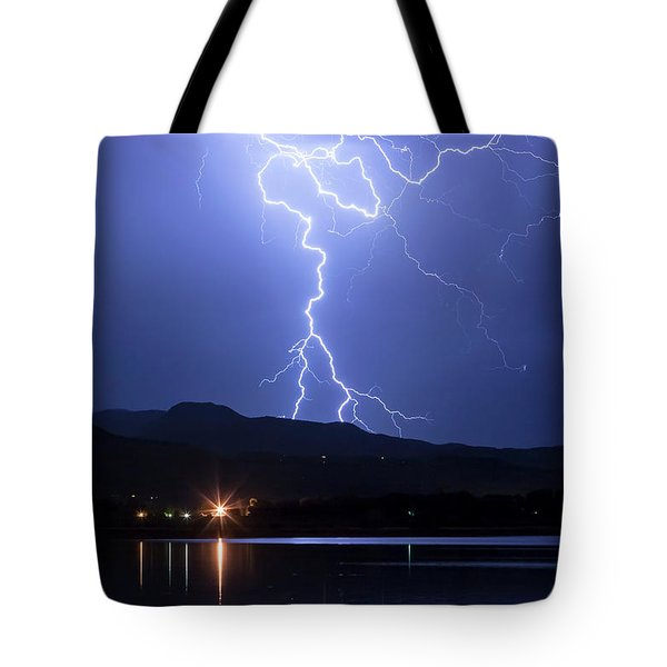 Tote Bag featuring the photograph Scribble In The Night by James BO Insogna