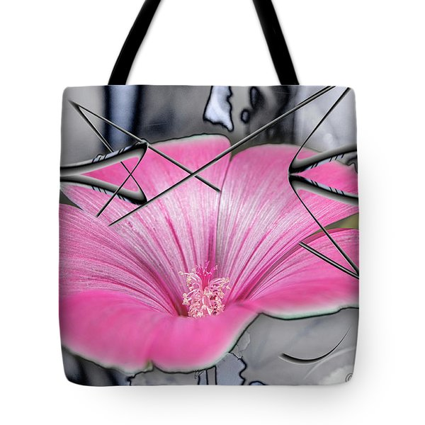 Scribble Petals..... Tote Bag
