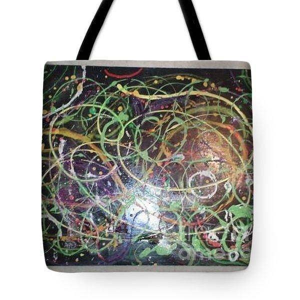 Scribble Tote Bag