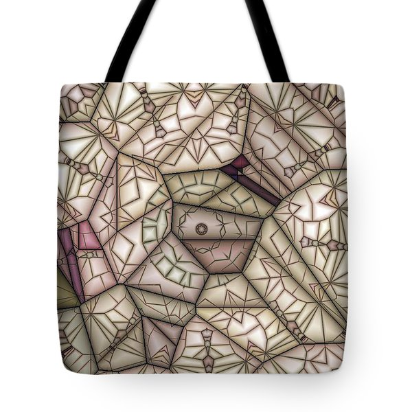 Scribed Tote Bag by Ron Bissett