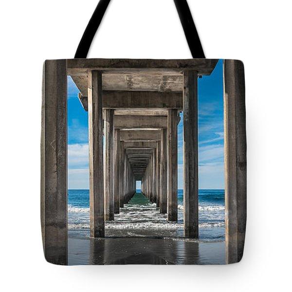 Scripps Pier La Jolla California Tote Bag