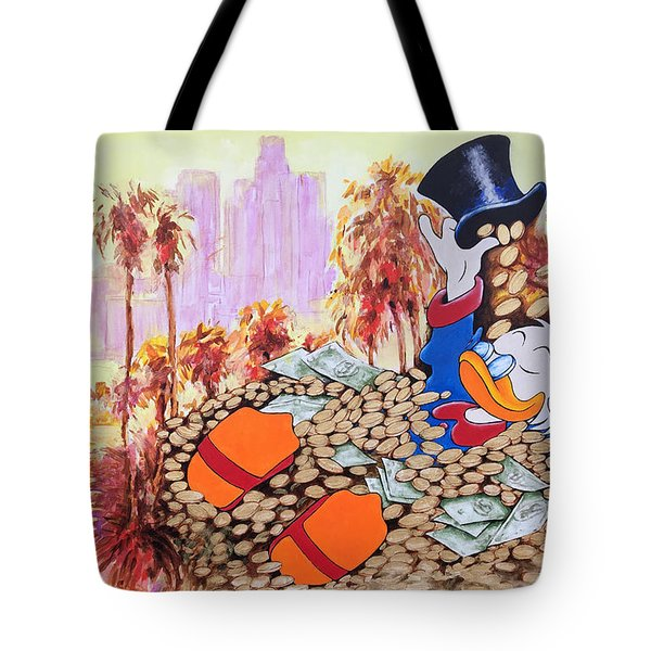 Scrooge In La Tote Bag