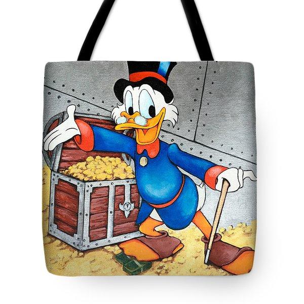Scrooge Mcduck  Tote Bag