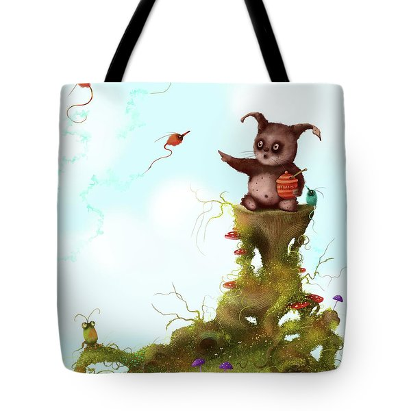 Scrumpy And The Phizz Poppers  Tote Bag